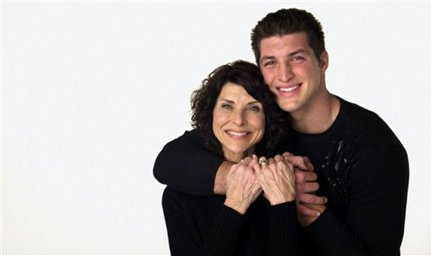 Tim Tebow and His Mom