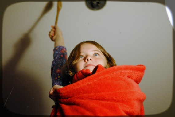 Be a Hero: Photo of a little girl