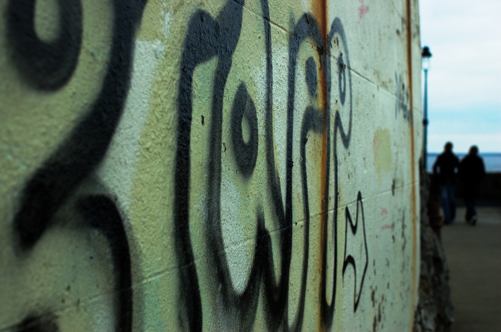 Graffiti: Get more followers by breaking the rules