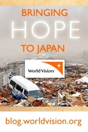 World Vision Blogging Campaign to Help Japan