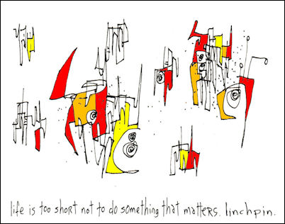 Gapingvoid Linchpin Series - Hugh MacLeod