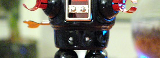 Robot photo for post on website SEO tips