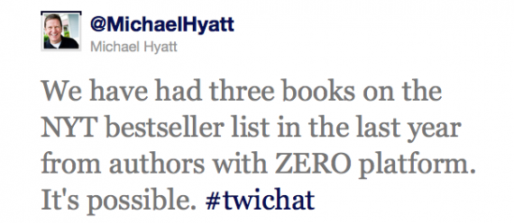 Excerpt from Michael Hyatt Twitter Interview