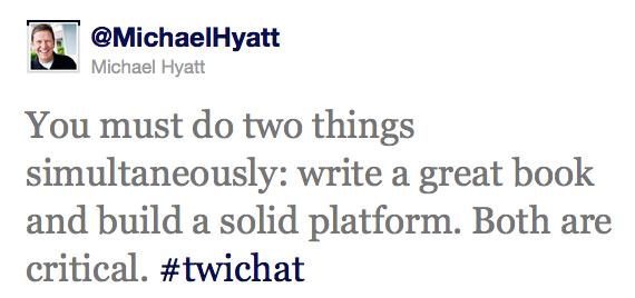 Michael Hyatt Twitter Interview Excerpt