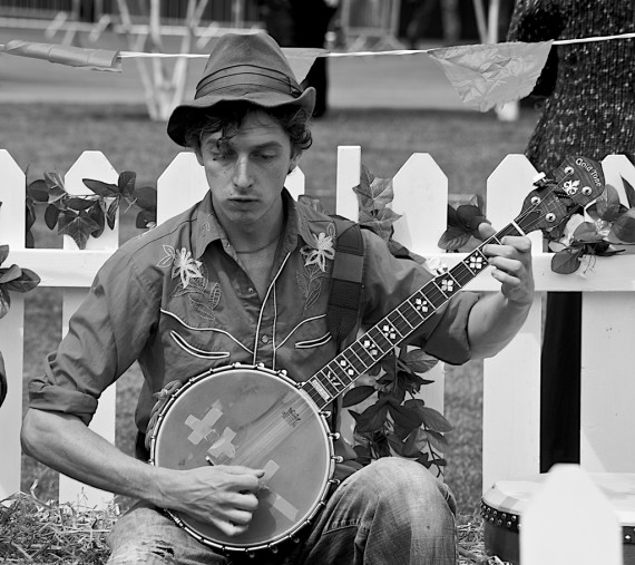 Southern Banjo Player