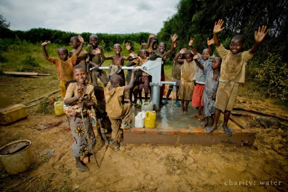 Clean Water Well in Rwanda