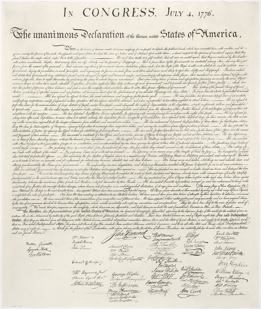 Revolutionary Words - Declaration of Independence