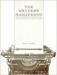 Writers Manifesto Book Cover