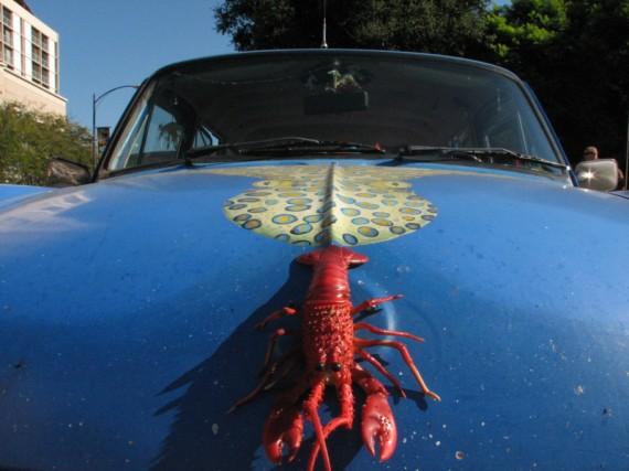 Ordinary Blogger: Weird Car Photo