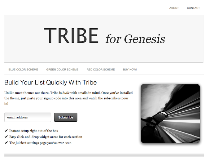 Tribe Screenshot