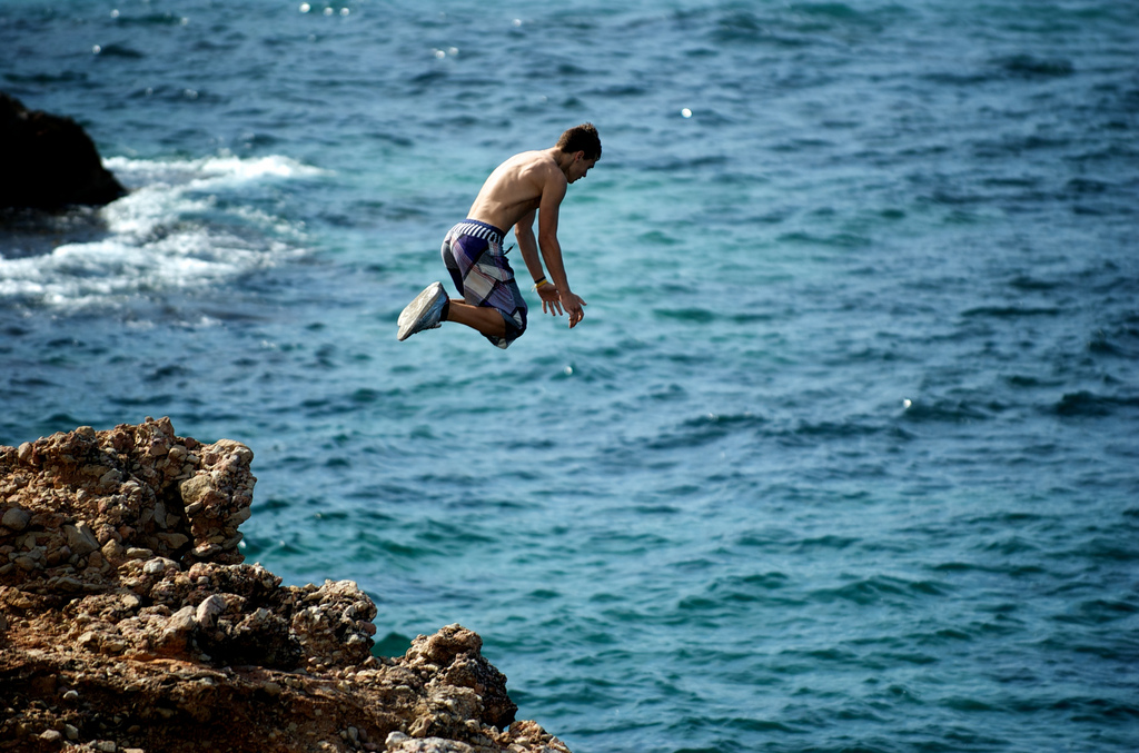 Cliff Diving Photo
