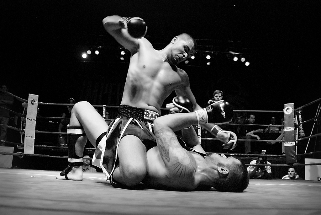 Struggle Is a Sign You'r Creating Art (Two Fighters)
