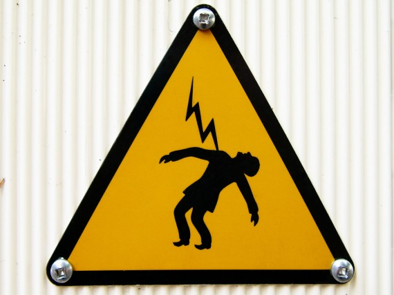 Photo of Danger Sign