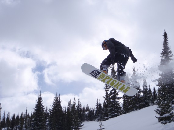 Awesome Snowboarder