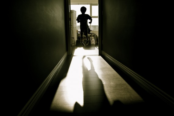 Photo of Child Leaping