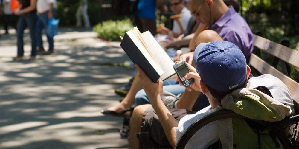 Photo of Man Reading