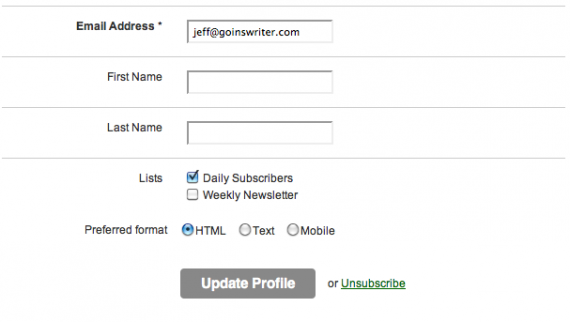 Goinswriter subscription confirm