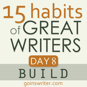 Great Writers Build Badge