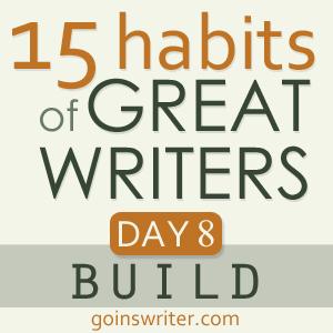 Great Writers Build Badge