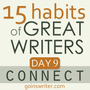 Great Writers Connect Badge
