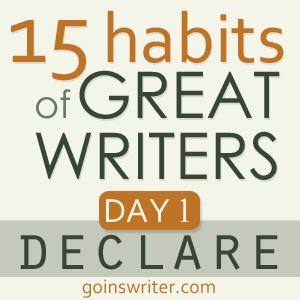 Great Writers Declare