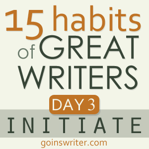 Great Writers Initiate Badge