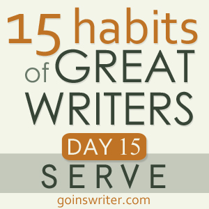 Great Writers Serve