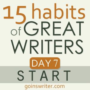 Great Writers Start