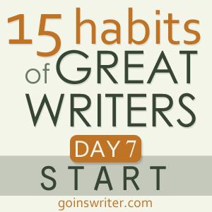 Great Writers Start
