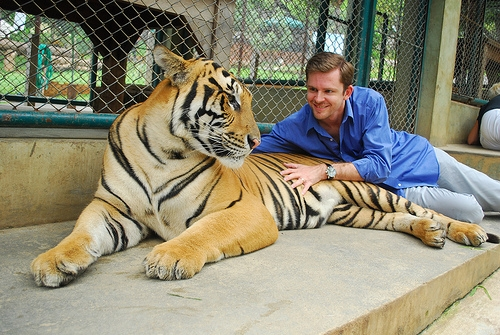 Chris Guillebeau & Tiger