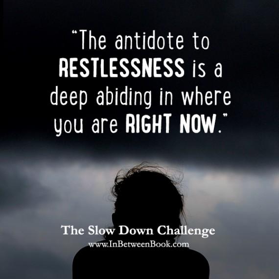3 Restlessness