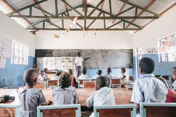 Classroom in Africa