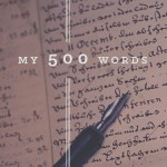 My 500 Words Widget