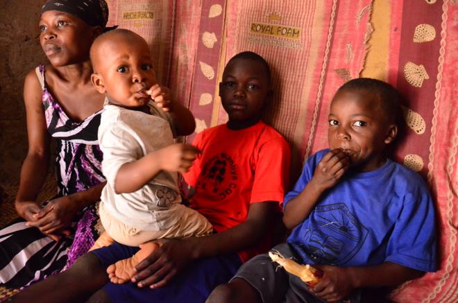 Ugandan family