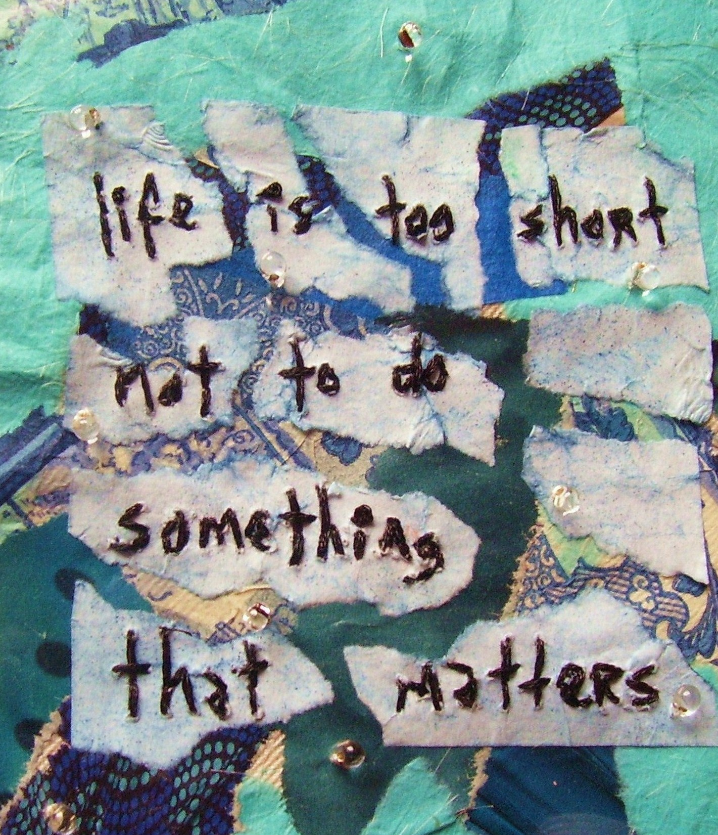 Life is too short artwork