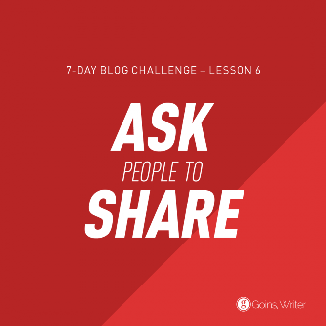 Ask People to Share