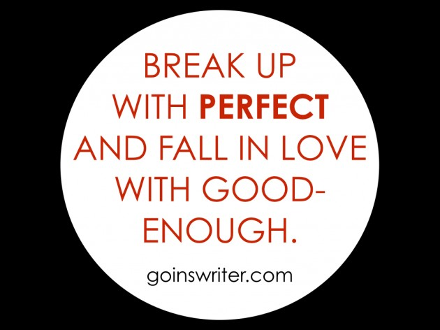 Break up with perfect